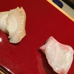 はつね寿司 - 石鯛とバイ貝