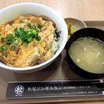50142859 - 松尾ジンギスカン 「ジンギスカン玉子とじ丼」