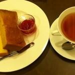 50143454 - モーニングセットA+紅茶