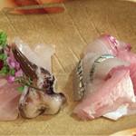 とっちゃば おいしい魚とこだわりの酒 - 本日の特選盛り合わせお造り