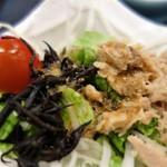 寿司割烹 寿司御殿 - サラダ(名物握り膳)