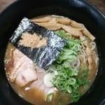 麺侍どらぁご - 侍らぁめん大盛