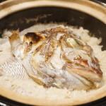 禅紫 - 16.04 天然鯛の土鍋炊きご飯