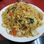 中華料理 太華 今店 - 焼きそば 2016年4月