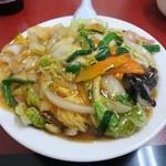 中華料理 太華 今店 - 中華丼 2016年4月