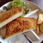蒲田蔵の珈琲 - アーモンドトースト
