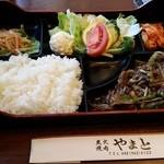 Sumibiyakinikuyamato - 炭火焼肉やまとのスタミナ焼き定食。