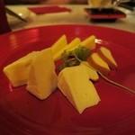 アートレストラン キリストン バー - チーズ盛り合わせ