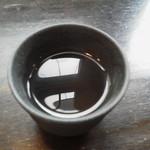シジャン - 食後のトウモロコシ茶