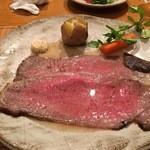 鎌倉山 - 料理写真:ローストビーフ