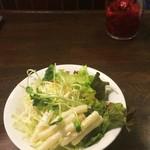 煉瓦亭 - サラダ