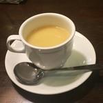 煉瓦亭 - コーンスープ