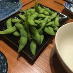 鉄板じゃんじゃん - 枝豆