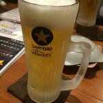鉄板じゃんじゃん - キンキン生ビール
