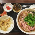 50159603 - 牛肉のフォーセット900円\(^o^)/牛肉トッピング♡