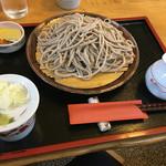 おおわ田 - ざるそば大盛り920円