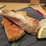 げんき - サーモンハラスの塩焼