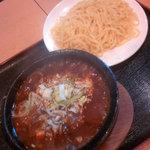 50164425 - 石焼麻婆豆腐つけ麺750円