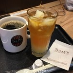 タリーズコーヒー - 珈琲とグレープフルーツティー