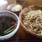 50169159 - 松鶴庵の鴨汁蕎麦。