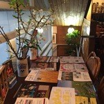 ビアカフェあくら - 登るとおしゃれにしてあります。