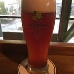 ビアカフェあくら - ビール飲み放題は4種類です。