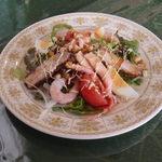 カウッパトリ - サラダ(おすすめランチ)