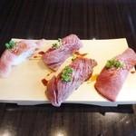 焼肉ドラゴ - 肉寿司