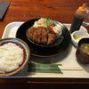 キッチンカフェ キーチャンズ - 料理写真:牛たんメンチカツ定食@950円