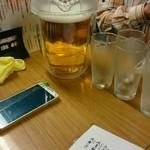 ニュータマミヤ - 生ビールはピッチャーで(*´ω`*)