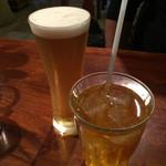 カンテ・グランデ - 生ビールとジャスミンティー