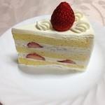 Hohes Lob - いちごのケーキ