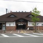50177601 - 和歌山電鐡 貴志駅も猫の顔をイメージしてあります♪
