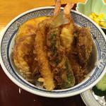 天ぷら いづも - 天丼 980円