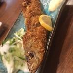 ふなっ子 - 鰯のお腹にポテトと挽肉を詰めて揚げた鰯のコロッケ。