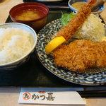 5018547 - 2010/09/07 海老ロースかつランチ1029円