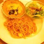 キッチン芥子屋 - ドリアとスパゲティのパリエ 1350円