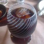 カントリーダイナー - ランチセットの飲み物(アイスコーヒー)