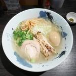 鶏そば 雫一 - 鶏そば¥750 +味玉¥100