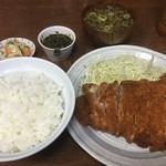 大黒食堂 - 料理写真:ニンタレカツライス(税込1000円)