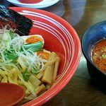 エビスKEN - エビカラジョニス(300㌘つけ麺)
