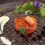 ソラメンテ - オードブル サーモンのマリネ