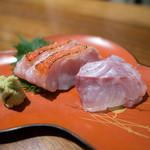 佳肴みを木 - お造り(金目鯛とハタ)