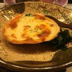 磯勘 - 洋皿は蟹をつかったグラタンでした!