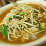 50184507 - 麻婆ホルモン麺(大盛り