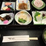 上畑温泉 さわらび - 朝食① 2016.04