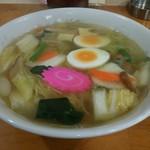 マルヨ食堂 - 五目ラーメン旨し!600円