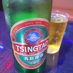 中華料理 紫光閣 - 青島ビール