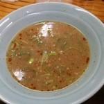 ラーメンショップ - つけ麺(大) /脂多い味濃い目汁