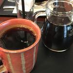 50191445 - ブレンドコーヒー#5 556円と、アイスコーヒー